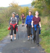 Nordic Walking am Hennesee